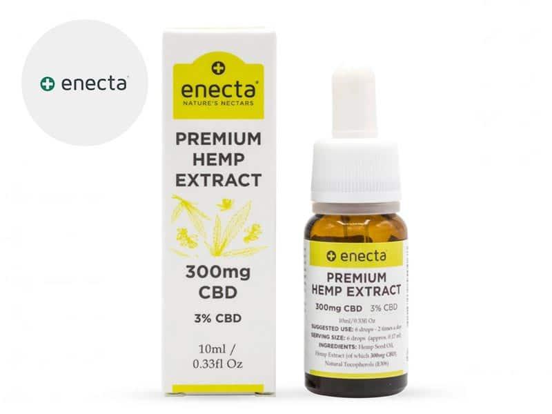 Huile CBD 3% bio - Enecta