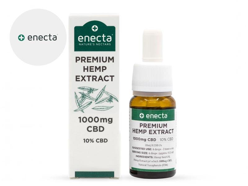 Huile CBD 10% bio - Enecta