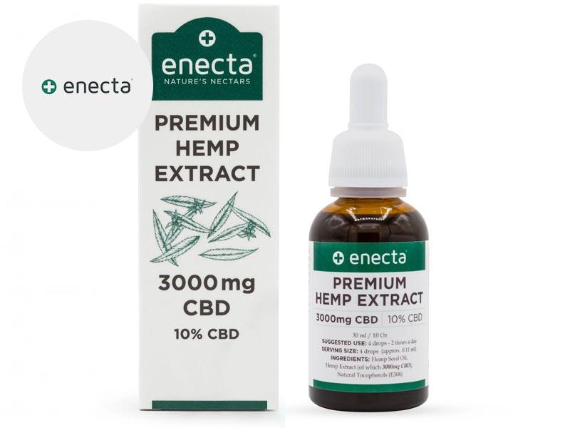 Huile CBD 10% bio 30ml - Enecta