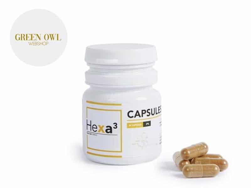 Capsules CBD (200mg) - Hexacube