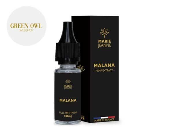 E-liquide CBD Malana 500mg - Marie Jeanne