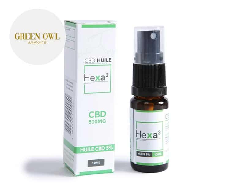 Huile MCT CBD 5% bio - Hexacube