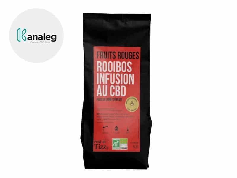 Infusion CBD Thé bio Fruits Rouges - Tizz