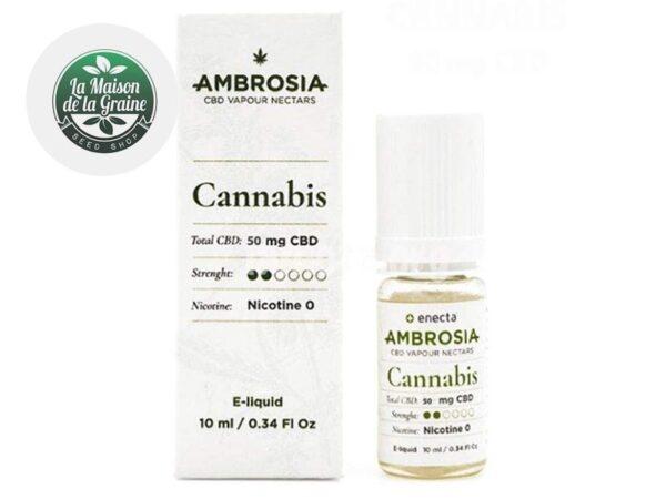 E-liquide CBD Cannabis 400mg - Enecta