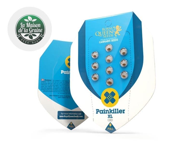 Graines CBD Painkiller XL féminisées - La Maison De La Graine