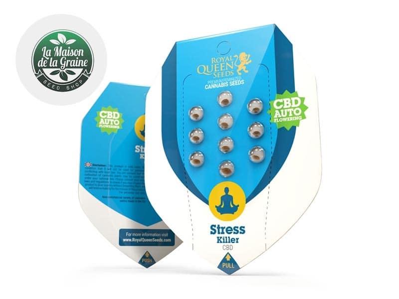 Graines CBD Stress Killer autoflorissantes - La Maison De La Graine