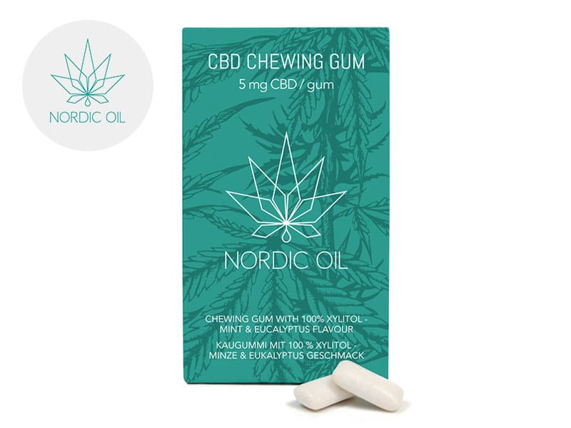 Chewing gums Menthe CBD - Nordic Oil