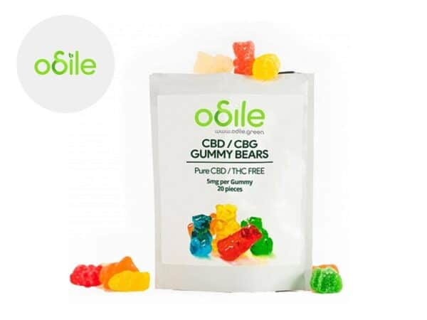 Bonbons Gummy Bears CBD - Odile Green