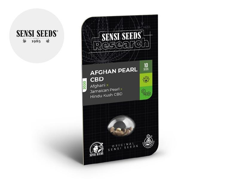 Graines CBD Afghan Pearl autoflorissantes - Sensi Seeds