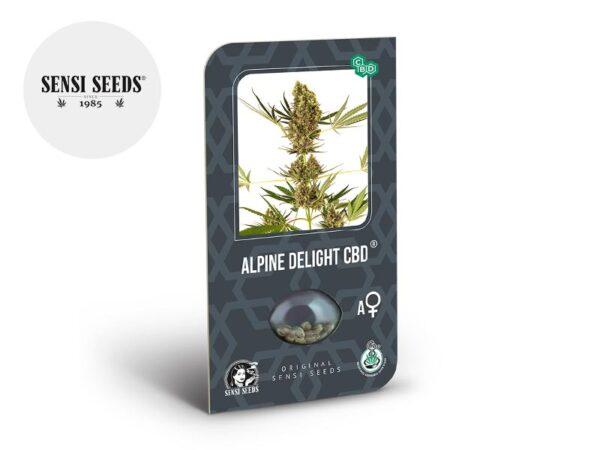 Graines CBD Alpine Delight autoflorissantes - Sensi Seeds
