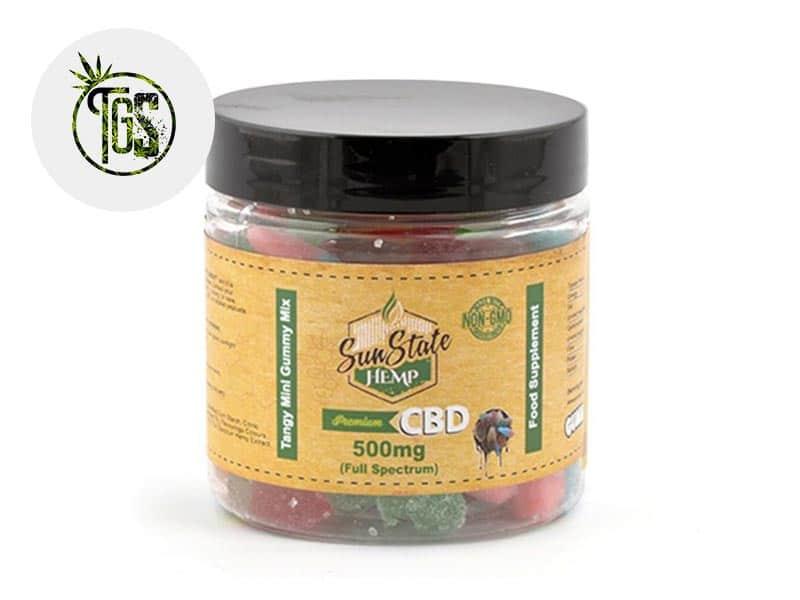 Bonbons Mélange Fruité CBD - Sunstate
