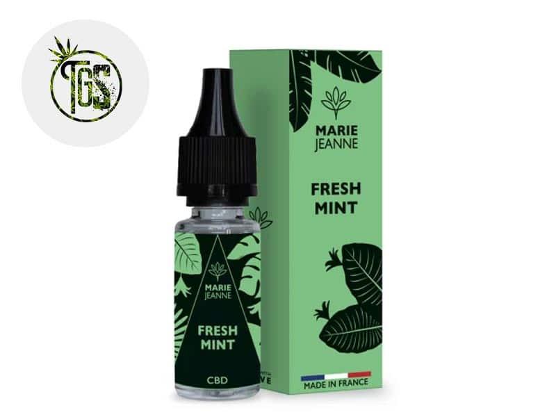 E-liquide CBD Fresh Mint 100mg - Marie Jeanne