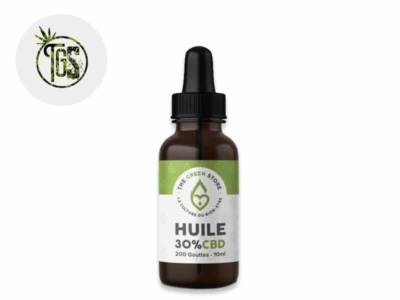 Huile CBD 30% bio - The Green Store