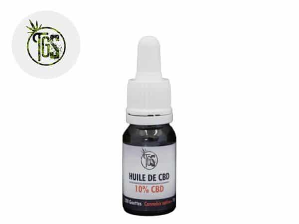 Huile CBD 10% bio - The Green Store