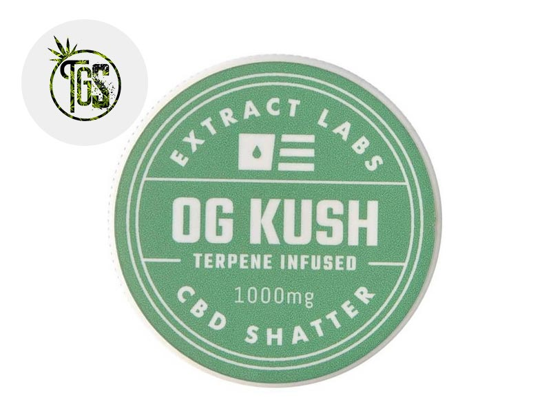Shatter CBD 97% - Extract Labs