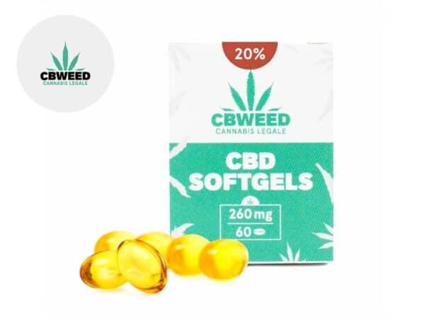 Capsules CBD (1920mg) - Cbweed