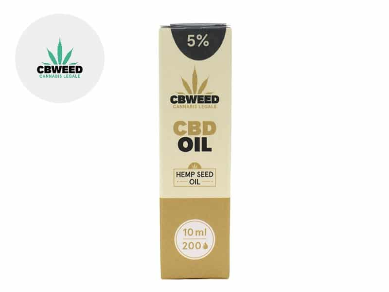 Huile CBD 5% (huile de chanvre) - Cbweed