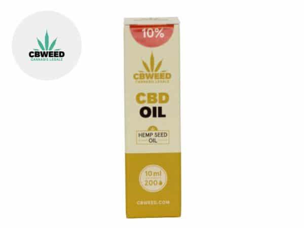 Huile CBD 10% (huile de chanvre) - Cbweed