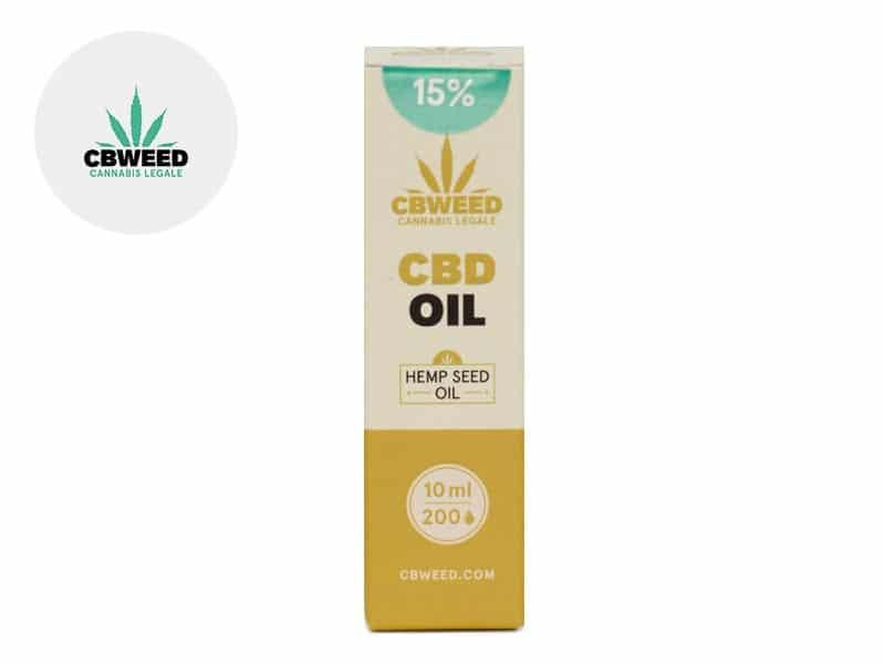 Huile CBD 15% (huile de chanvre) - Cbweed