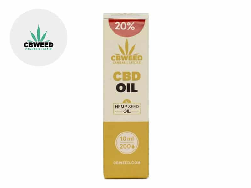 Huile CBD 20% (huile de chanvre) - Cbweed