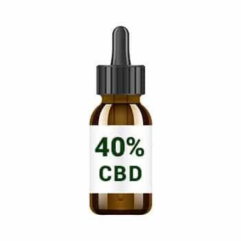 huile 40% cbd
