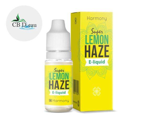 E-liquide CBD Super Lemon Haze 600mg - Harmony