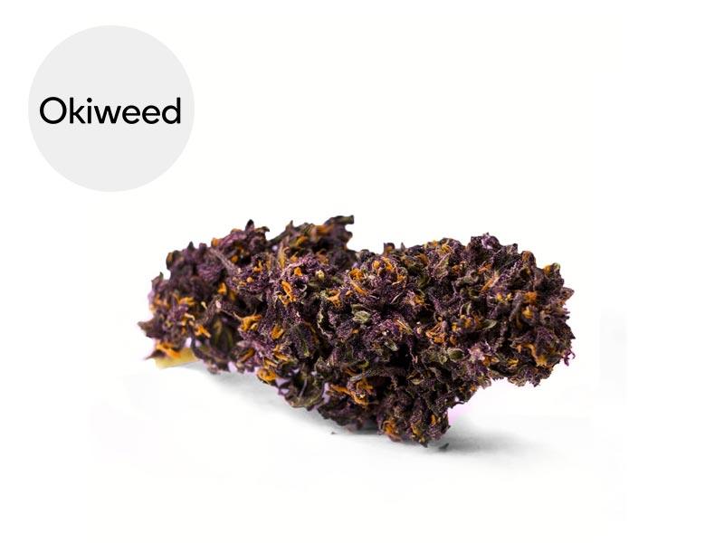 Fleur Purple Kush CBD Greenhouse 22% - Okiweed