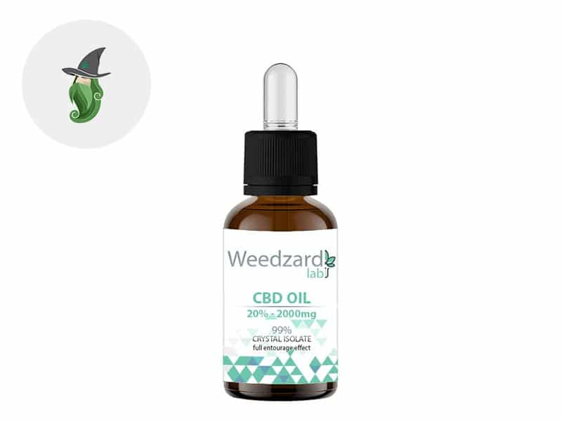 Huile CBD 20% bio - Weedzard